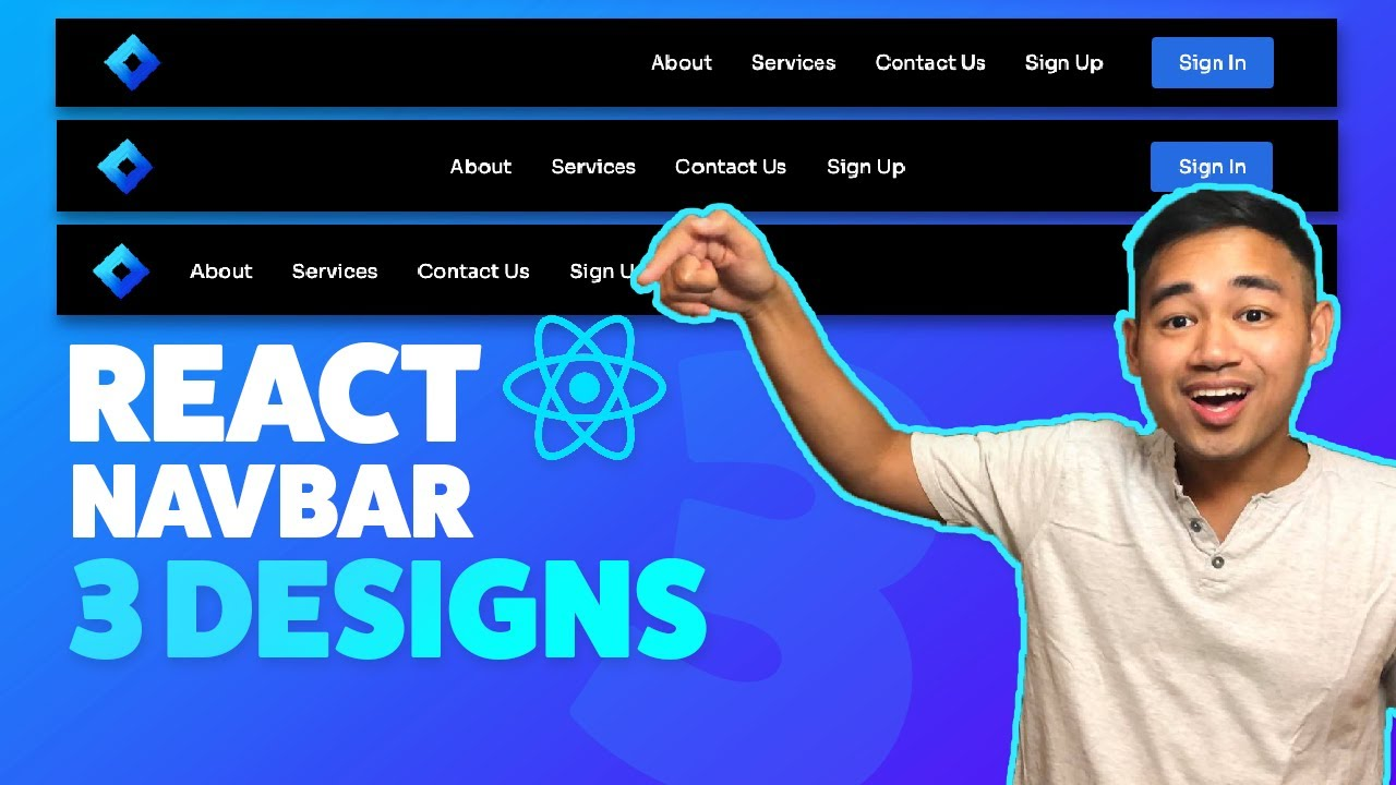 How to Build a React Navbar in 3 Different Ways