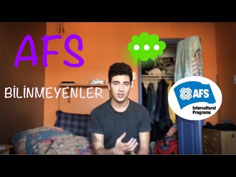 AFS ÖĞRENCİ DEĞİŞİM PROGRAMI-BİLİNMEYENLER!!!