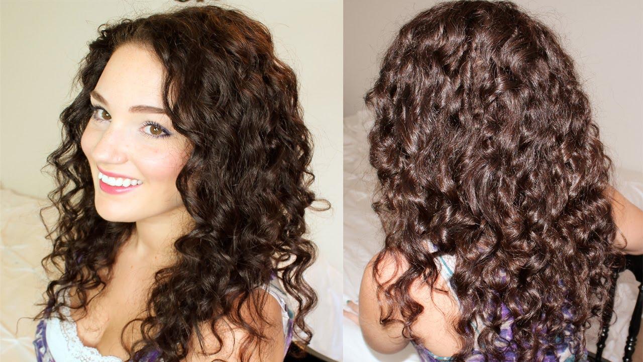 Textured Curls Hair Tutorial Youtube