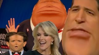 ytp donald trumps around with megyn kelly