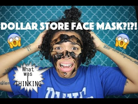 DOLLAR STORE FACE MASK?!