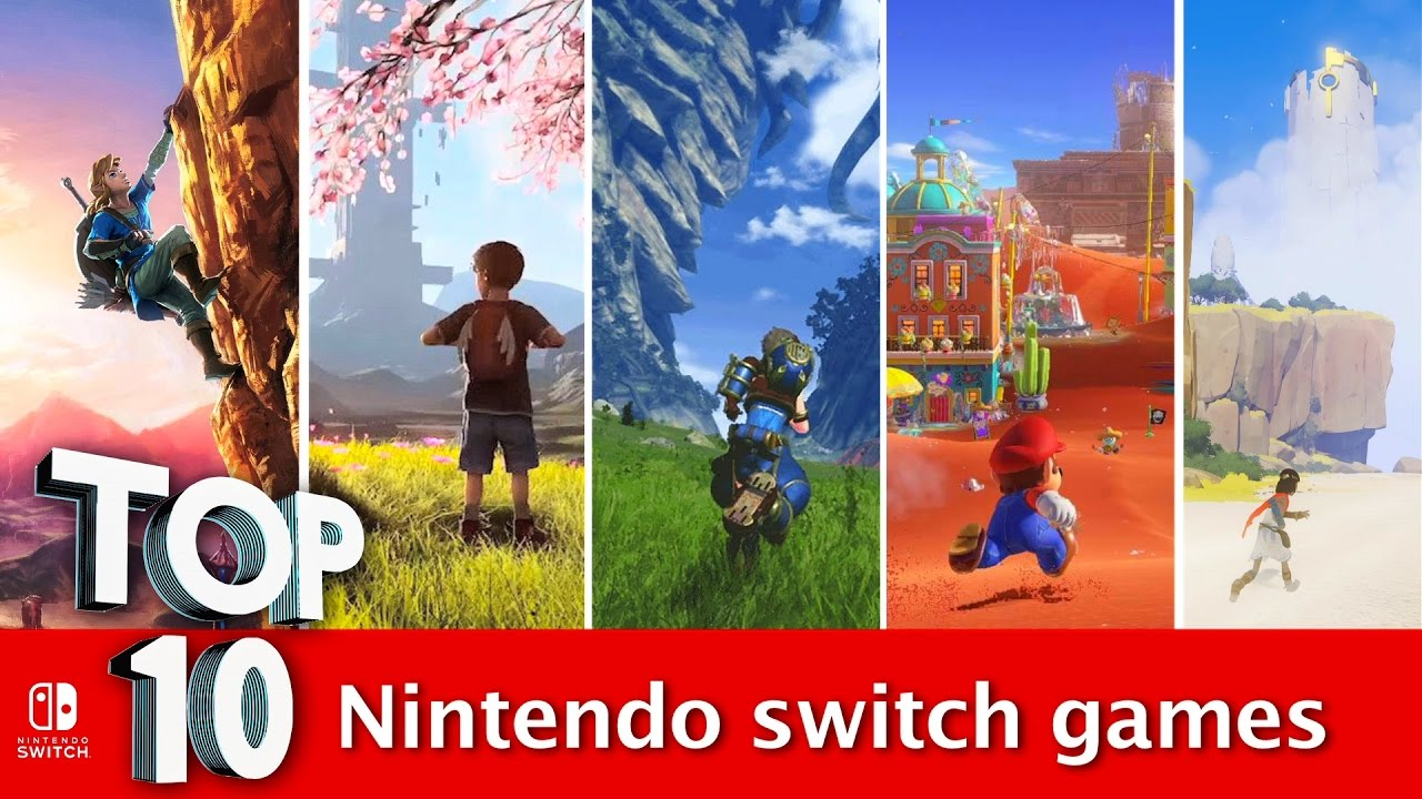 Top 10 Nintendo Switch Games That Collectively Make It