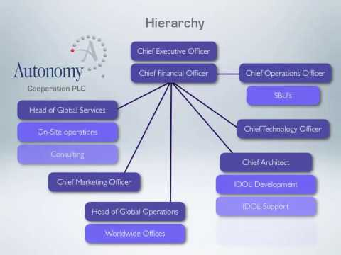 Autonomy Corporation PLC presentation for the European School of Economics