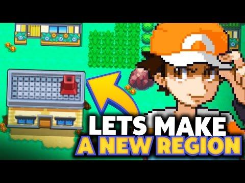 Let's Make A New Pokemon Region? (My Pokemon Region)