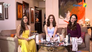 No Mirror Makeup Challenge ft. Neha Dhupia, Elli AvrRam & Evelyn Sharma