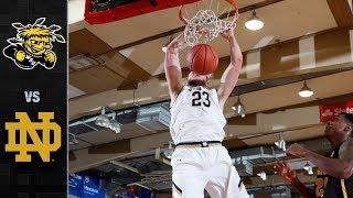 Wichita State vs. Notre Dame Basketball Highlights (2017)
