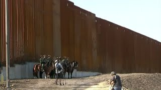 A history of the battle over Trump's border wall