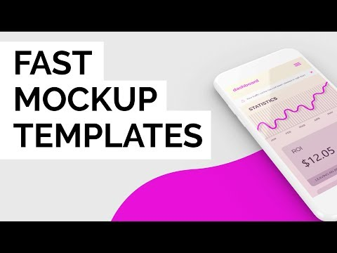 Here's a Super Fast Way to create Mobile App Mockups