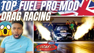 🇬🇧 BRIT F1 Fan Reacts To NHRA TOP FUEL PRO MODIFIED DRAG RACING - These Cars Are INSANE!
