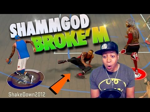 The SHAMMGOD Killed His ANKLES TWICE! - NBA 2K17 MyPark 3v3