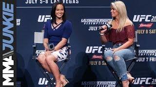 Paige VanZant, Michelle Waterson share their biggest UFC memories