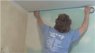 To paint the walls without painting the ceiling, consider using pai...