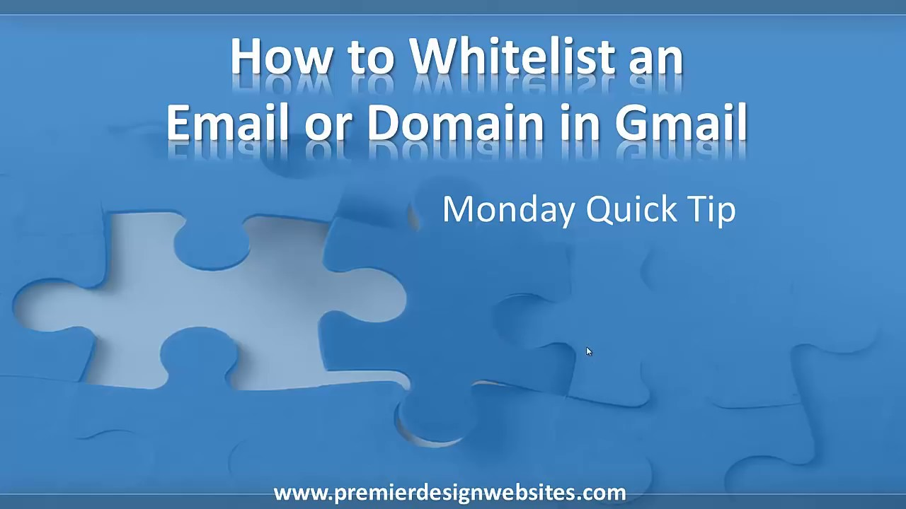 how to add email to whitelist gmail