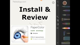 PaperColor   Android drawing app   Install and quick guide screenshot 1