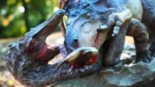 Protoceratops vs. Velociraptor by Sideshow Dinosauria
