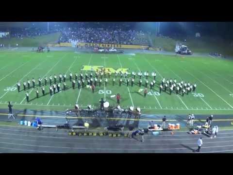 Kings Mountain High School Marching Band 2016