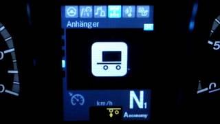 Mercedes Benz Actros Обзор меню