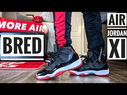 Air Jordan Retro 11 Bred In GS | Early Unboxing And On Foot!