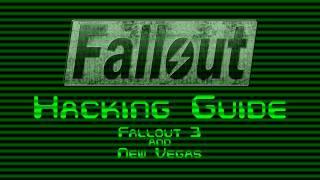 Fallout - Hacking Guide (Fallout 4)