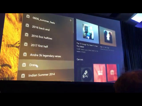 Fluid Design System demo from Microsoft from Build 2017
