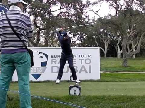 Pablo Larrazabal Golf Swing, Slow Motion, Valderrama, Spanish Open 2016