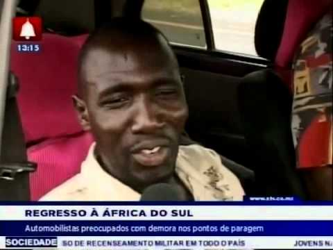 Automobilistas preocupados com demora nos pontos de paragem de Ressano Garcia