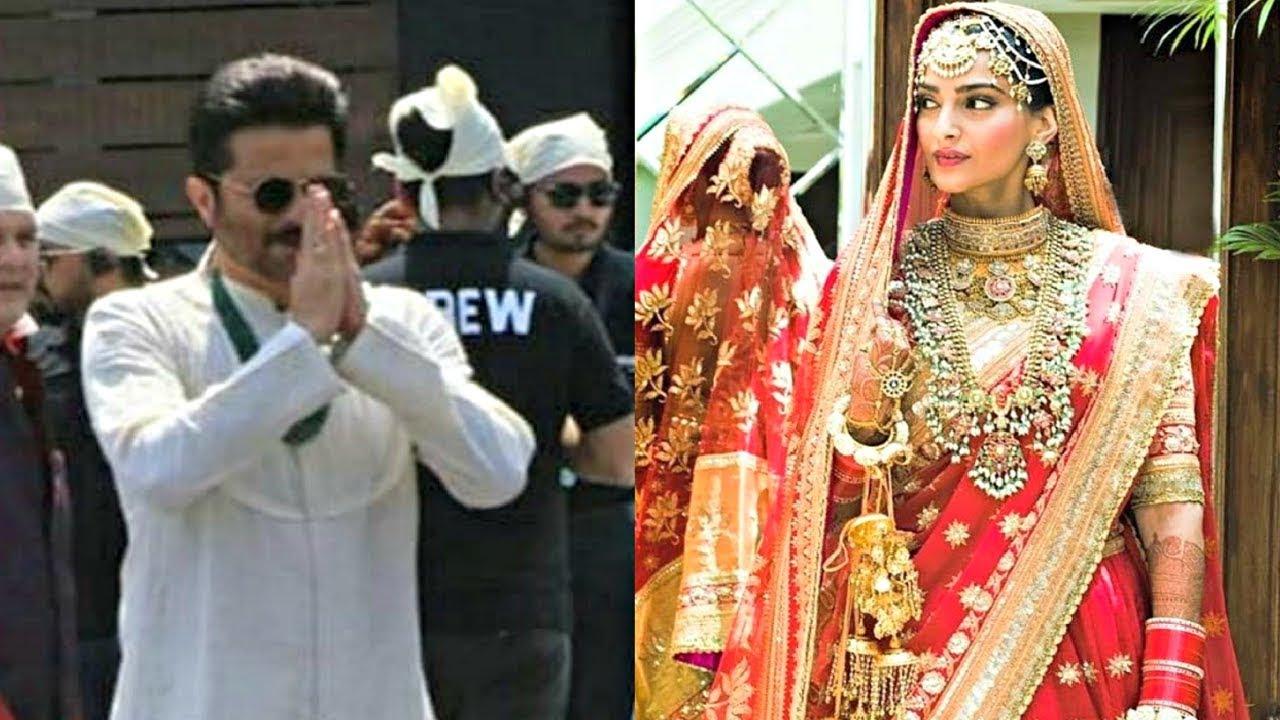 Anil Kapoor At Daughter Sonam Kapoor Wedding