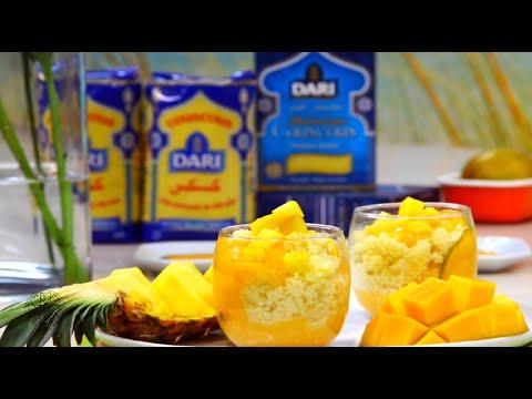 choumicha-:-dessert-de-couscous-aux-fruits-exotiques---sweet-exotic-couscous