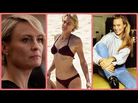 Robin Wright   Claire Underwood in House of Cards Rare Photos  Childhood  Family  Lifestyle