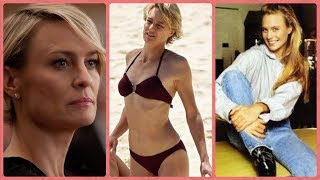 Robin Wright - ( Claire Underwood in House of Cards) Rare Photos | Childhood | Family | Lifestyle