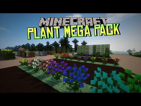 [FR]-PLANT MEGA PACK : PLUS DE 400 PLANTES DIFFERENTES !-[Minecraft 1.7.10]