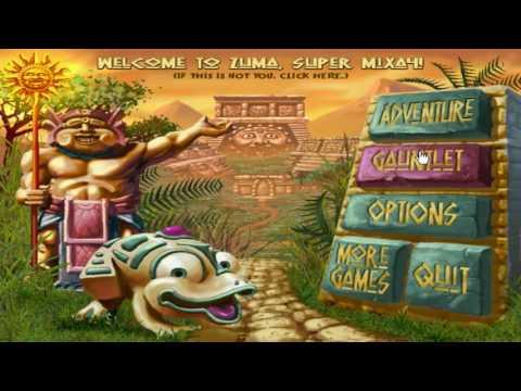 Zuma - Игра детства - Лопаю шарики и получаю бонусы