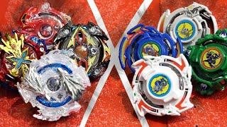 Beyblade Burst SPIN EMPERORS VS BLADEBREAKERS (Burst Remastered Ver.) Original 4 Saints!