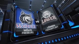 DEL2 Highlights 32. Spieltag | EHC Freiburg vs. Löwen Frankfurt