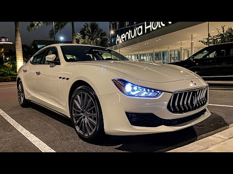 2020 Maserati Ghibli SQ4 : Start Up, Walkaround And First Look