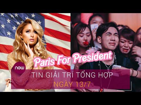 Tin giải trí tổng hợp 13/7: Paris Hilton đụng độ Kanye West trong cuộc đua tống thống Mỹ | VTC Now