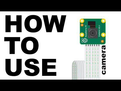 How to use the Raspberry Pi camera module