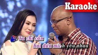 Karaoke Nói Với Người Tình (Beat Chuẩn) - Karaoke Song Ca || Randy Kim Thoa Karaoke