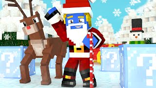 Minecraft: PARKOUR LUCKY BLOCK DE NATAL ‹ Afreim ›