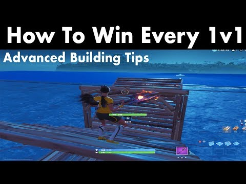 How To Win All Your 1v1's In Fortnite! (Advanced Building Tips)