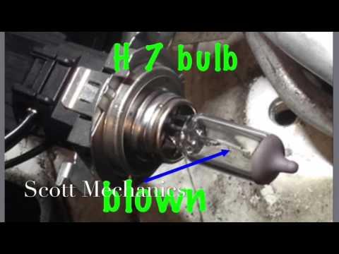 How to change VW POLO HEADLIGHT BULB REPLACED by scott mechanics