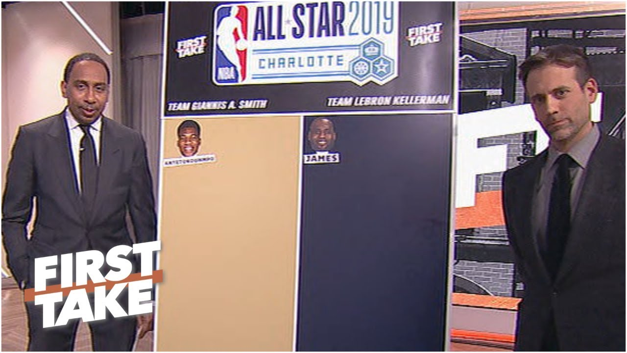 Stephen A. & Max mock draft LeBron's and Giannis' picks for the 2019 NBA All-Star Game