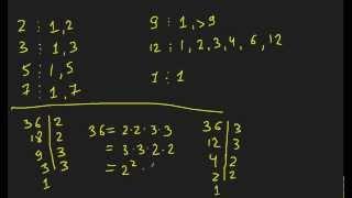 Kampus.kz: Математика. Урок 2 - Числа: Простые числа.