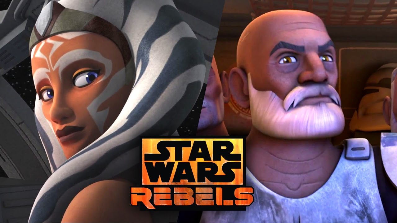 Ahsoka X Rex star wars rebels season 4 - ahsoka's return teased! captain rex could be  rebel from endor after all!