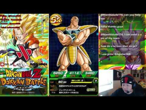 DBZ Dokkan Battle - 5/4/16 stream - Random grinding before Dreamhack
