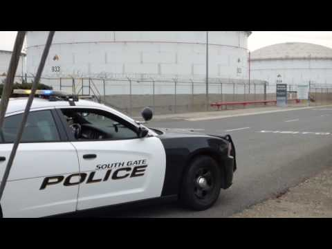 """ARCO Refinery South Gate, """"What are you up to""""  """" Are You Protesting""""  1st Amend Audit"""