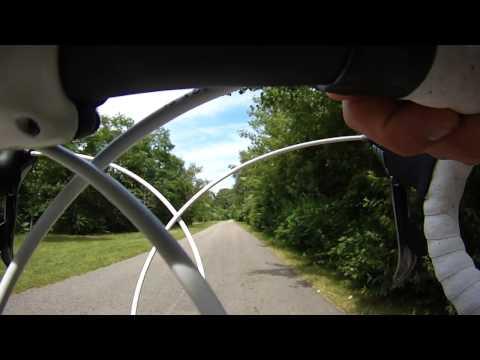 Neponset River Trail Boston Harborwalk on Bike  Milton to Dorchester