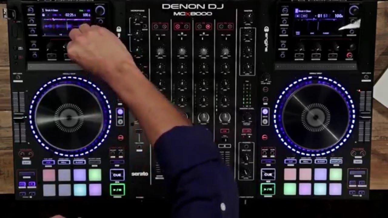Denon Mc 8000 : denon dj mcx8000 dj crontroller youtube ~ Russianpoet.info Haus und Dekorationen