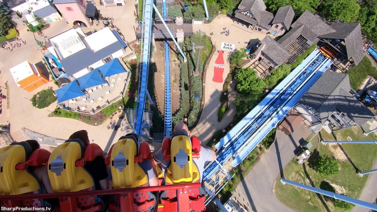 Griffon (4K On-Ride Back) Busch Gardens Williamsburg