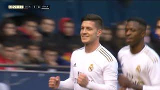 Golčina Luke Jovića za Pamćenje   Osasuna - Real Madrid   SPORT KLUB Fudbal
